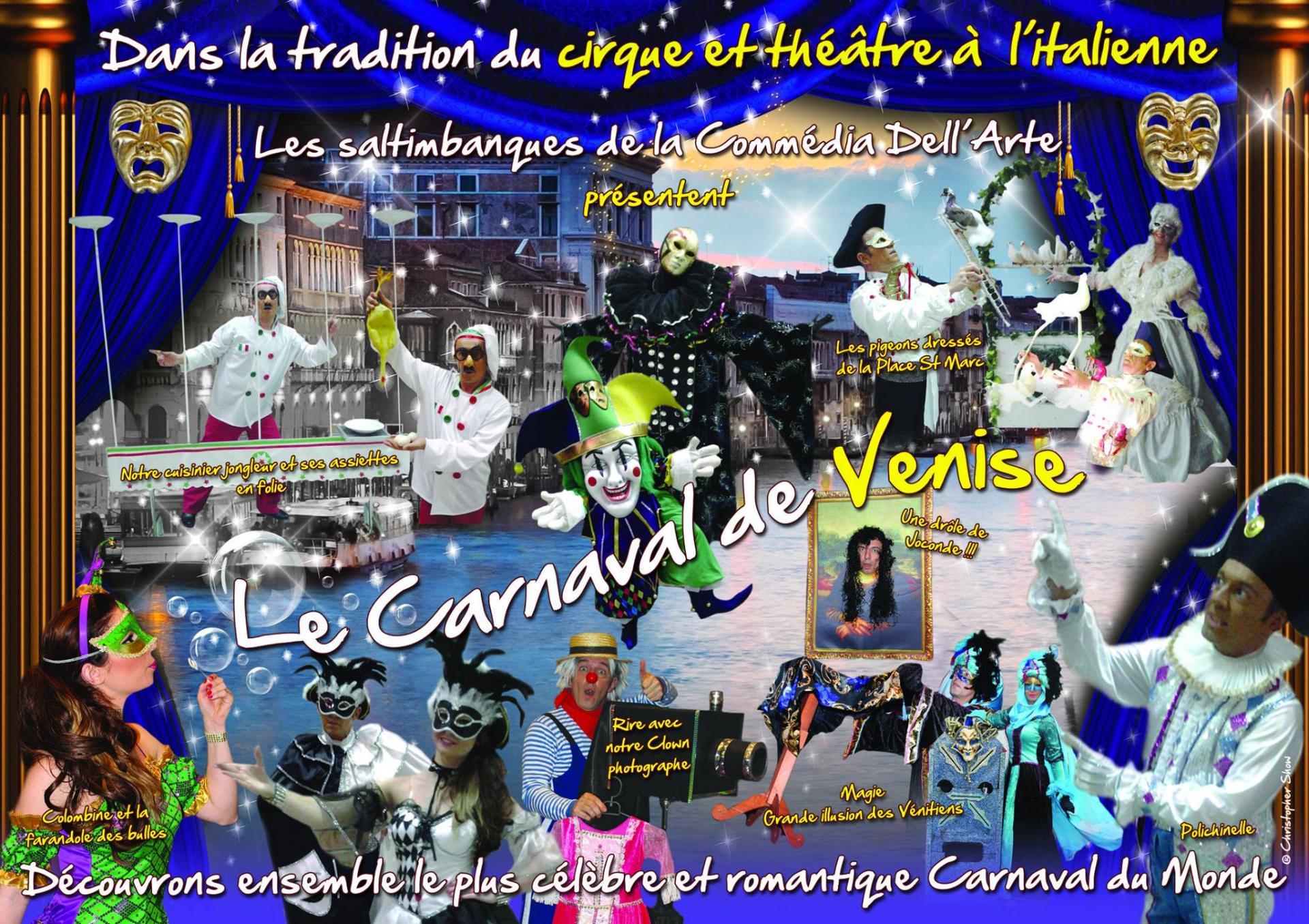 spectacle carnaval de venise