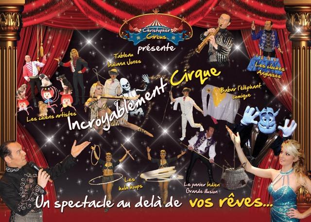Publicite cirque 2017