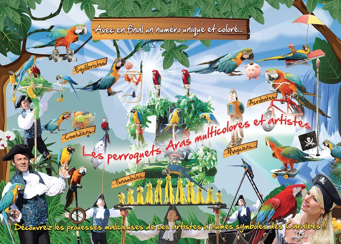 Publicite perroquets news 2017