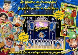 Guignol, Pinocchio et la fée bleue