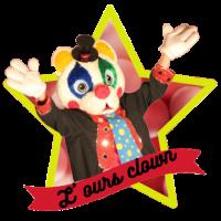 L ours clown