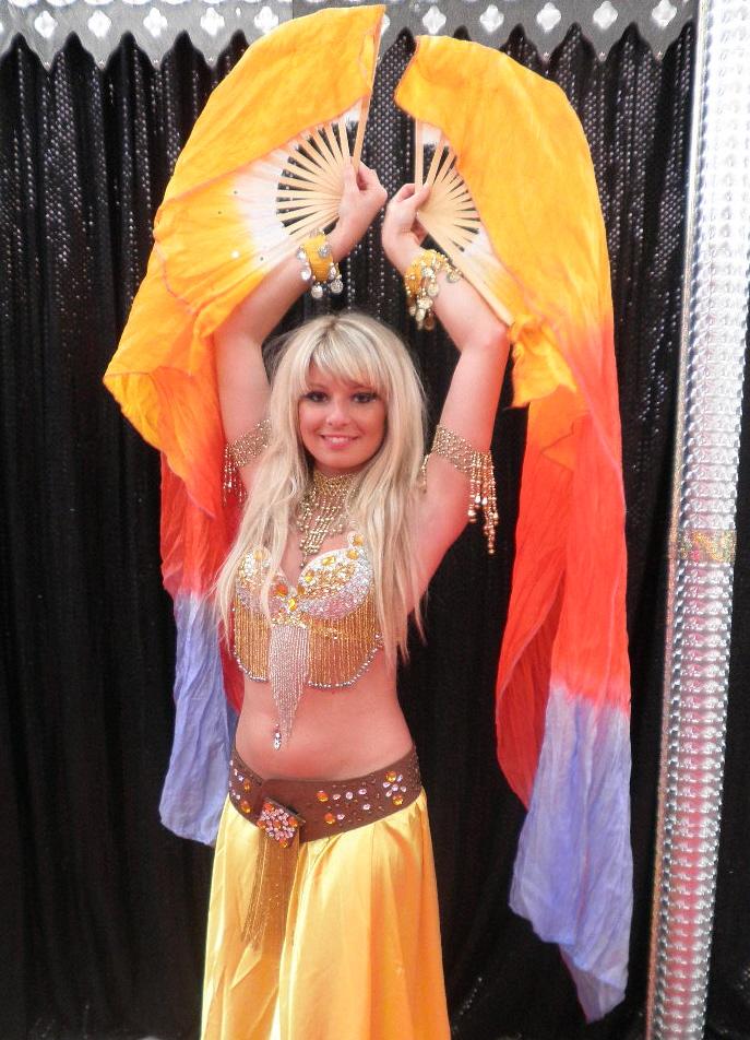 artiste danseuse orientale